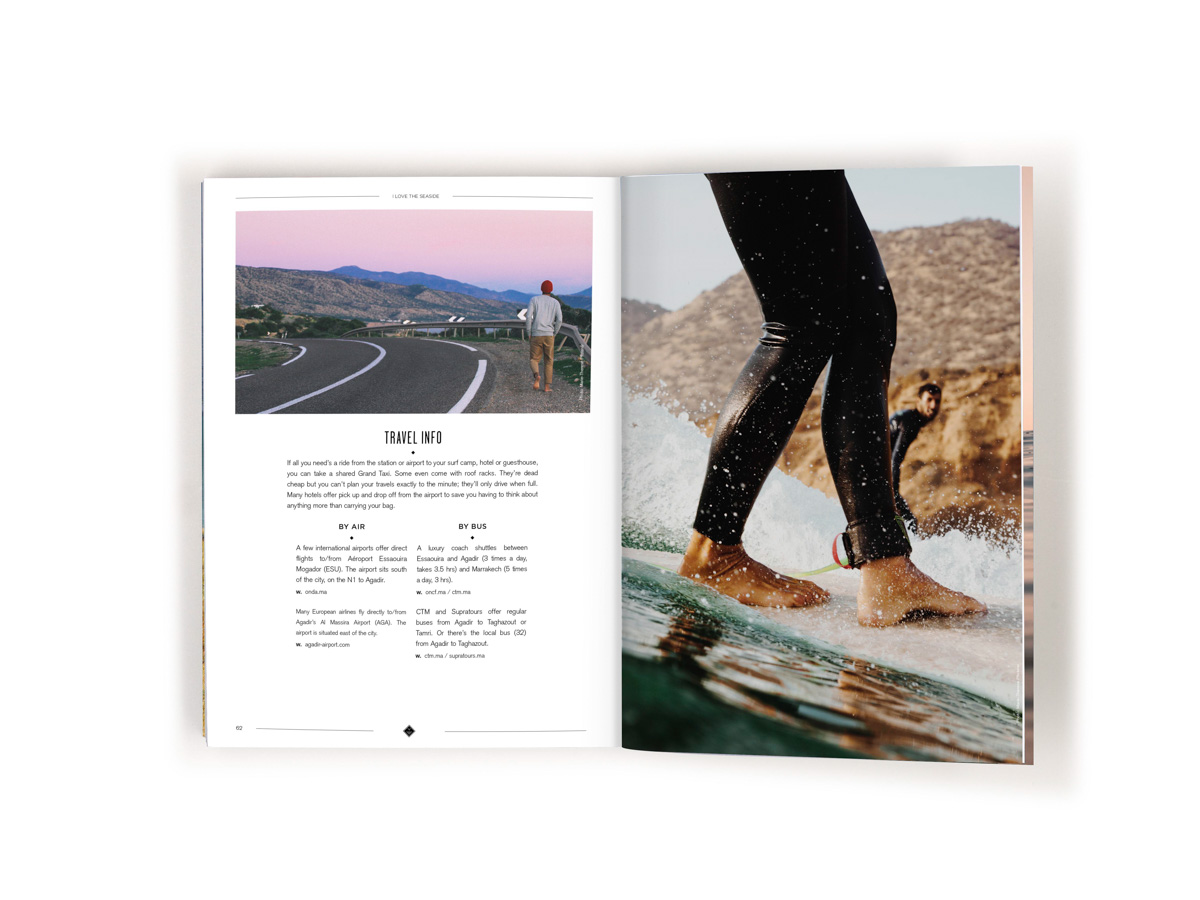 I Love the Seaside surf and travel guide to Morocco