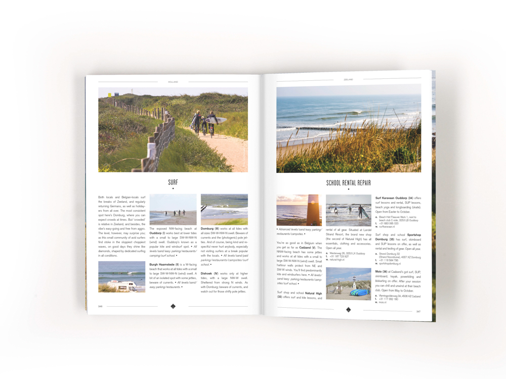 I Love The Seaside Surf and Travel guide Northwest Europe