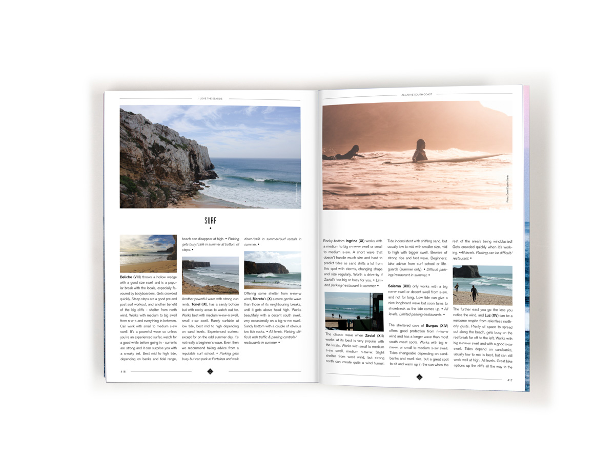 I Love the Seaside surf and travel guide to southwest Europe